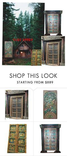 Barn Doors by era-chandok on Polyvore featuring interior, interiors, interior design, home, home decor, interior decorating, rustic and vintage