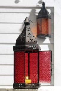 Moroccan lantern for centerpiece