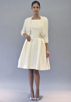 Robe de mariée hiver 2013 : la tendance des robes courtes style ...
