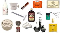 antique mens grooming products | Men's Grooming Supplies