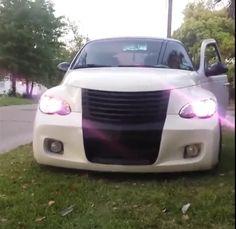 Pt Cruiser blacked out grill Cruiser Car, Chrysler Pt Cruiser, Custom Cars, Hot Rods, Dream Cars, Car Kits, Cruises, Usa, Cars