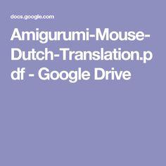 Amigurumi-Mouse-Dutch-Translation.pdf - Google Drive