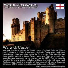 Warwick Castle Warwick Castle Warwick Castle, Warwickshire, is a medieval castle built by William the Conqueror in 1068 and the ori. Chateau Medieval, Medieval Castle, Palaces, Alnwick Castle, Castles In England, Most Haunted Places, Ghost Hunting, Beautiful Castles, Day Tours