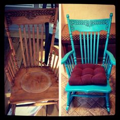 Merveilleux My First Furniture Refinishing Project! Do Our Rocking Chair And Bench,  Dressers, Side Tabbles, Dining Table