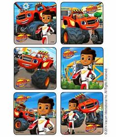 Blaze & The Monster Machines Stickers | Kids Love Stickers from MediBadge