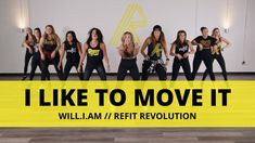 Do you like to MOVE IT? This may be one of our all time favorites! Everything about this song is FUN: the beat, the moves, and the lyrics. It doesn't matter . Dance Workout Videos, Zumba Videos, Dance Videos, Cardio Dance, Dance Exercise, Exercise Videos, Dance Fitness, Zumba Fitness, Refit Revolution