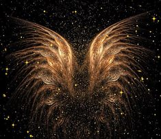 Archangel Uriel ~ The Divine Path is Yours Within Each Moment Archangel Uriel ~ The Divine Path is Yours Within Each Moment Angel Wings Art, Angel Art, Wings Wallpaper, Angel Wallpaper, Archangel Uriel, Golden Wings, Angel Aesthetic, Belle Photo, Les Oeuvres
