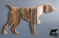 German Shorthaired Pointer - pose (order yours Barn Wood Crafts, Wooden Crafts, Diy Wood Projects, Woodworking Projects, Wood Burning Patterns, German Shorthaired Pointer, Dog Accessories, Wood Pallets, Wood Carving