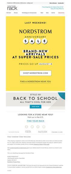 Nordstrom Rack - Shop the last weekend of Anniversary Sale