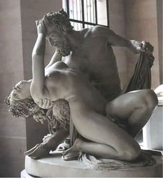 Satyr and Bacchante by Jean-Jacques Pradier,