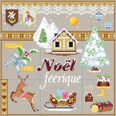 Noël Féérique de Passion Bonheur 180 x 180 Points