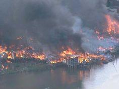 Mais de 103 famílias ficam sem teto após incêndio em favela no Recife | S1 Noticias