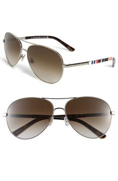 kate spade new york metal aviator sunglasses available at Nordstrom