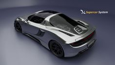 Supercar Body Challenge 2013: the winners - Kanza Concept by Greg Thompson