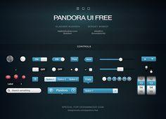 Free Pandora UI Kit