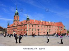 Royal Castle in Old Town Warsaw Poland