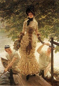 James Jacques Joseph Tissot - On the Thames