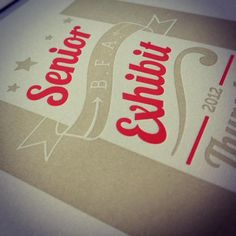 Letter press & Typography by Kelcy Parrish, via Behance