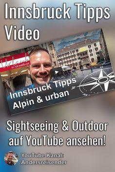 (Anzeige) Du suchst spannende Tipps für Innsbruck rund um Sehenswürdigkeiten und besondere Erlebnisse am Berg? In diesem Video habe ich für Dich abwechslungsreiche Innsbruck Tipps u.a. am Berg auf der Nordkette, in der spannenden Altstadt und Outdoor Abenteure beim Mountain Cart.  #myinnsbruck #innsbruck Innsbruck, Berg, Baseball Cards, City Breaks Europe, Old Town, Travel Report