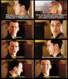 I love Nine. I'd forgotten how funny he and Rose and Jack were together. :( I miss them so much!