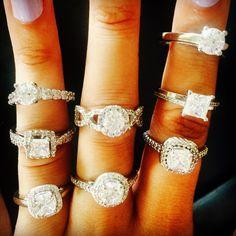Stunning engagement rings designed by Renee James. reneejamesjewelry.com