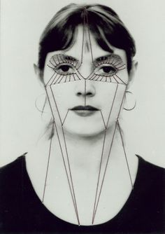 In the series 'Self German artist Annegret Soltau created striking embroidered self-portraits by stitching a thread over images of her own face. Surrealist Collage, Collage Artists, A Level Photography, Art Photography, Contemporary Photography, Visual Aesthetics, Portraits, Illustrations, Plastic Surgery
