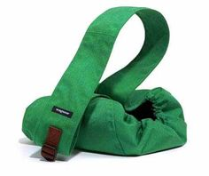 Wagwear Messenger Pouch Dog Carrier in Kelly Green available at www.ZoePetSupply.com