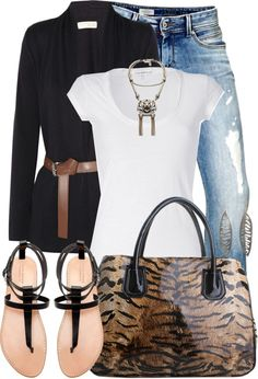 """""""Eye Of The Tiger"""" by tammylo-12 ❤ liked on Polyvore"""