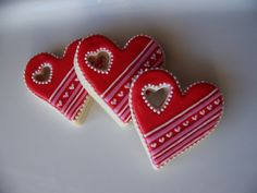Cute valentines cookies