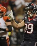 Bengals vrs Texans Football - J.J. Watt