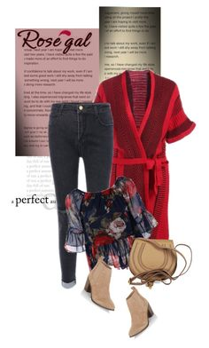 """ROSEGAL.com"" by monmondefou ❤ liked on Polyvore featuring Chloé and New Look"