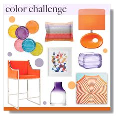 """Color Challenge"" by hellodollface ❤ liked on Polyvore featuring interior, interiors, interior design, home, home decor, interior decorating, Lite Source, Worlds Away, French Bull and Missoni Home"