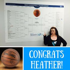 Heather came out on top in our LSG #marchmadness bracket! Honorable mention goes out to Andrew and Rina who landed in second and third. ☺