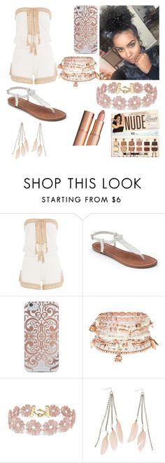 """""""Flowing From My heart"""" by leelee-the ❤ liked on Polyvore featuring Anna Kosturova, Apt. 9, Nanette Lepore, Accessorize, BaubleBar and Charlotte Russe"""