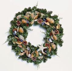 Juniper Bay Wreath ~ NEW at @wild thing Styles.