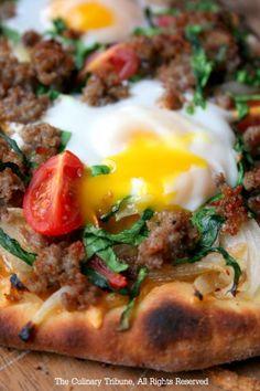 Breakfast Pizza  ブレックファスト・ピザ    Breakfast Pizza