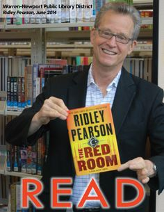 Best-selling author, Ridley Pearson came by WNPL in June 2014 for a discussion of his latest novel, The Red Room. Characters John Knox and Grace Chu team up in Istanbul in his latest international thrill ride.