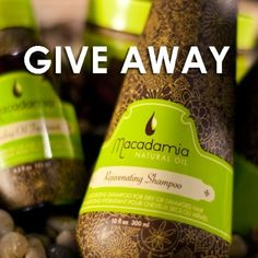We are giving away Macadamia Oil Shampoo. This good for dry, frizzy hair. Go to our website to sign up. Share this to increase chance of winning. P.S. For those of you who enter our weekly giveaway contest. Please check inbox for result. Peace :)