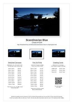 Scandinavian Blue Available for Sale on FineArtAmerica! http://fineartamerica.com/featured/scandinavian-blue-m-cihad-aydin.html #fineartamerica #art #scandinavia #blue #sky #dark #silhouette #tree #sunset #clouds #river #denmark #copenhagen #art #gift