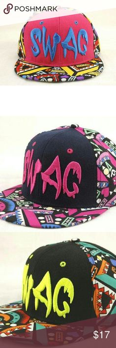 Swagg Snapback New adult size swagg snapback. In different colors. See boutique for more fashions!  #love #beauty #makeup #fashion #swimsuit #streetwear #style #trend #boho #matte #201 #designer #crop #mid #wedding #marriage #women #plussize #plus #petite #small #medium #large #unicorn #brush #gold #silver #human #hair #dress #shirt #short #top #sunglasses #watches #jewelry #choker #multilayer #bohemian #rings #leggings #necklace #bracelet #crop #mini #sweater #animal #print Rima Imar…