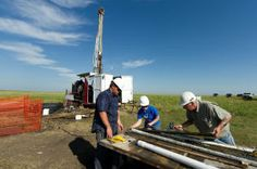 A team of researchers from the South Dakota School of Mines and Technology recently spent a week drilling holes into the prairie north of Fort Pierre. Energy Industry, Drilling Holes, South Dakota, A Team, Industrial, Technology, Stone, Tech, Industrial Music