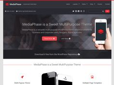 MediaPhase is a flexible multi-reason WordPress subject which is appropriate for business and corporate clients, online shops, bloggers and advanced organizations. It has a full-included landing page format which is...