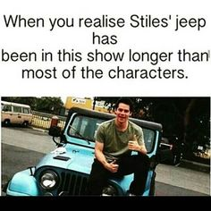 TeenWolf || Stiles' jeep