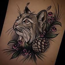 Bildergebnis für lynx tattoo