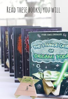 Read The Origami Yoda Series Chapter Books!