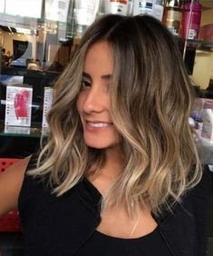 Long Wavy Ash-Brown Balayage - 20 Light Brown Hair Color Ideas for Your New Look - The Trending Hairstyle Brown Hair Balayage, Brown Hair With Highlights, Hair Color Balayage, Balayage Brunette Short, Balyage Brunette, Ashy Blonde, Short Hair With Balayage, Balayage Long Bob, Sunkissed Hair Brunette