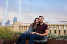 Margaret Hunt Hill Bridge in Dallas | Engagement Photos | Couples Photo Session Ideas | Austin Wedding Photographer | Rooted Trumpet Photography