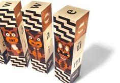 Uncle Goose Maori Alphabet Blocks