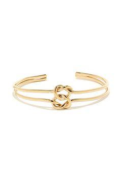 Knotty Gold Bracelet