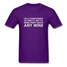 Wine Connoisseur - Men's T-Shirt